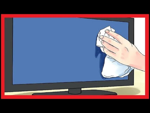 How to clean monitor screen