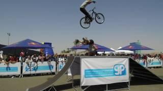 Freestyl'Air au stand RADIOMARS à Marrakech durant le WTCC 2017