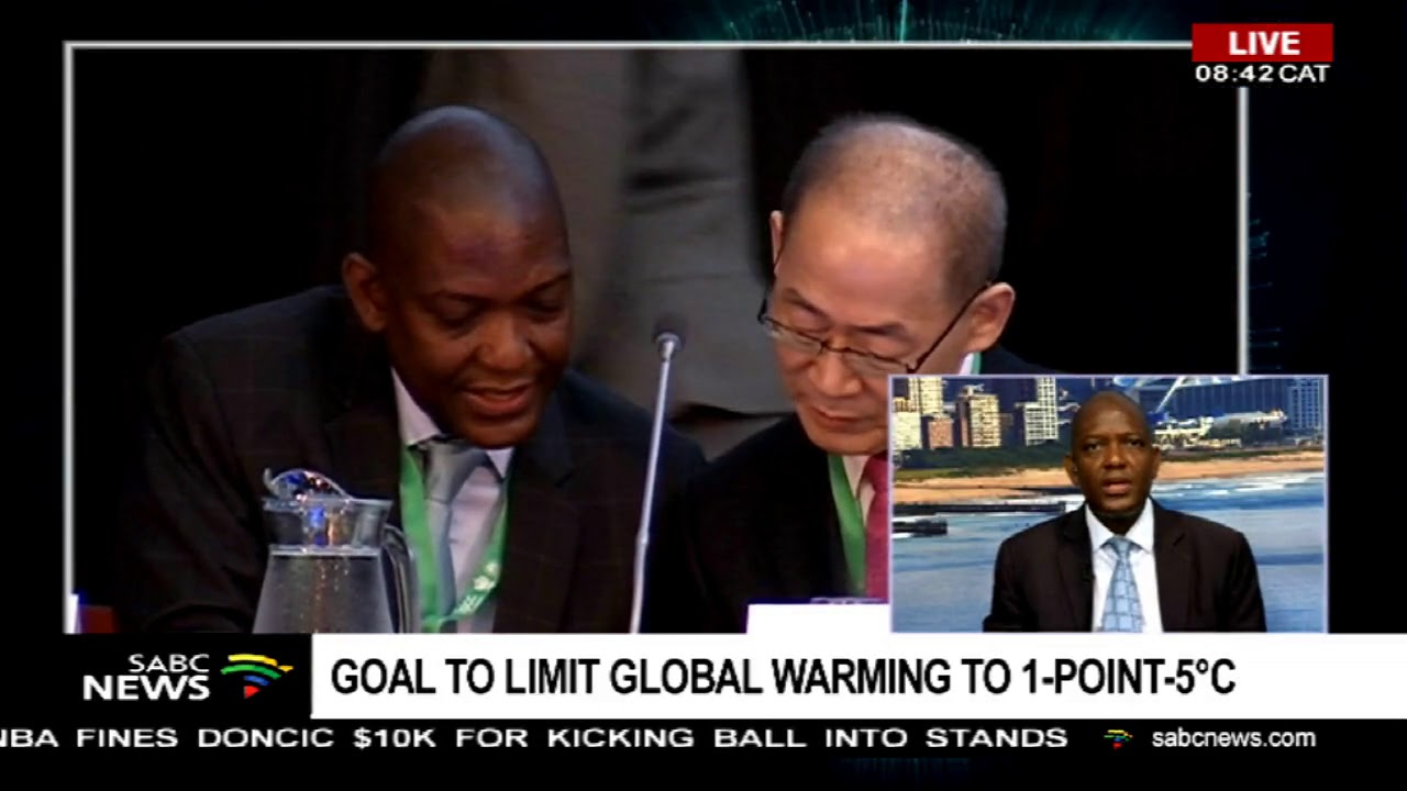 Goal to limit global warming to 1-point-5°c