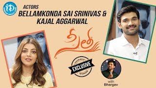 Actors Bellamkonda Sai Srinivas & Kajal Aggarwal Exclusive Interview || Talking Movies With iDream