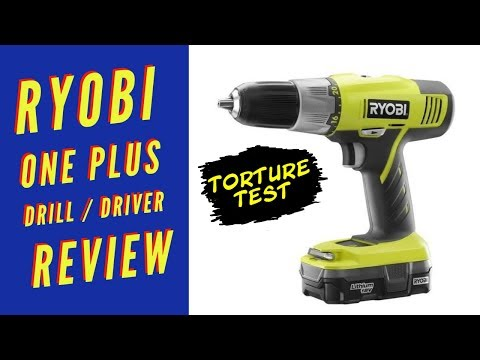 Ryobi One Plus 18 Volt Drill Driver Review