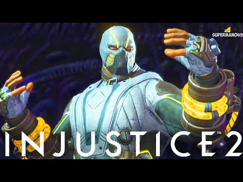 """INSANE 858 DAMAGE COMBO WITH BANE! - Injustice 2 """"Bane"""" Gameplay (Online Ranked)"""