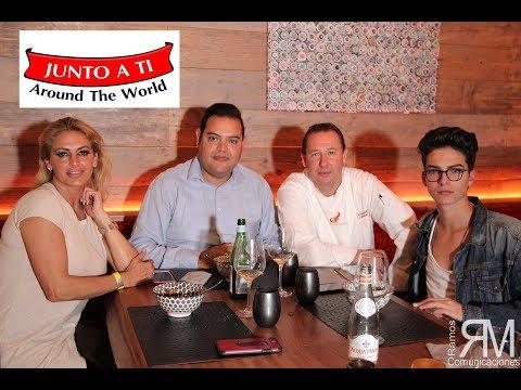 Ivonne Armant y Salman Yousra en Restaurante Alexandre
