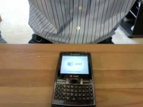 First Boot Up the Samsung Epix (SGH-i907)