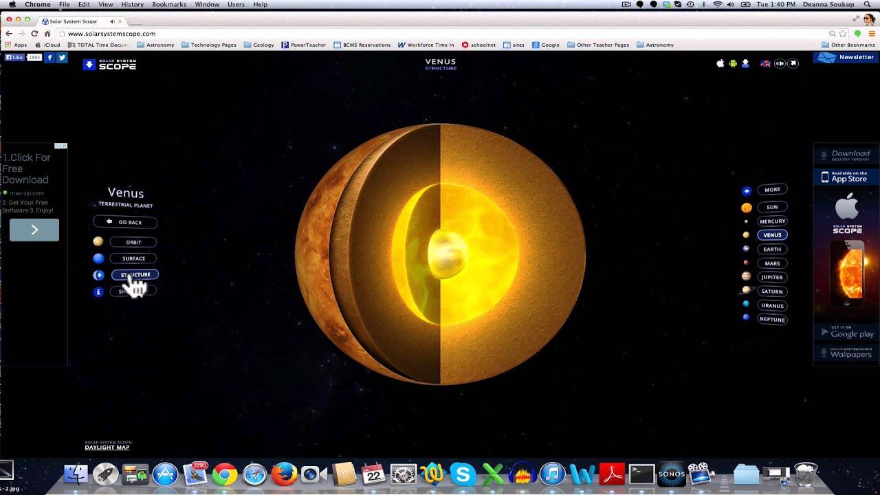 Solar System Scope Tutorial Part 1: The Basics - YouTube
