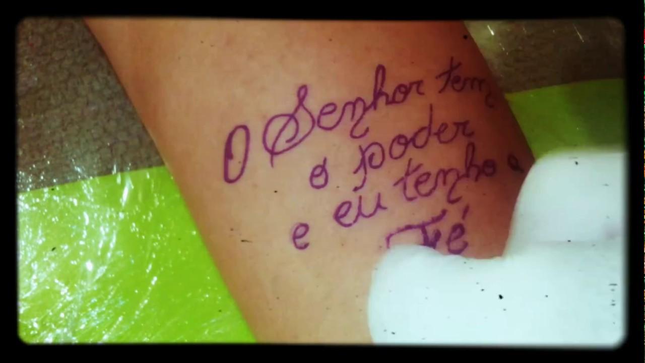 Tatuagem De Frases Youtube