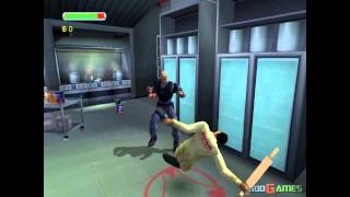 Minority Report Gamecube HD 720P Dolphin GCWii Emulator)