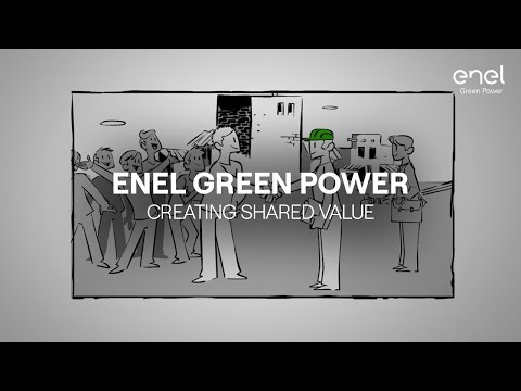 Enel Green Power and Creating Shared Value business approach