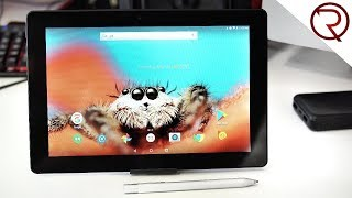 """A 10"""" Tablet with a Pressure Sensitive Stylus - Simbans PicassoTab Review"""