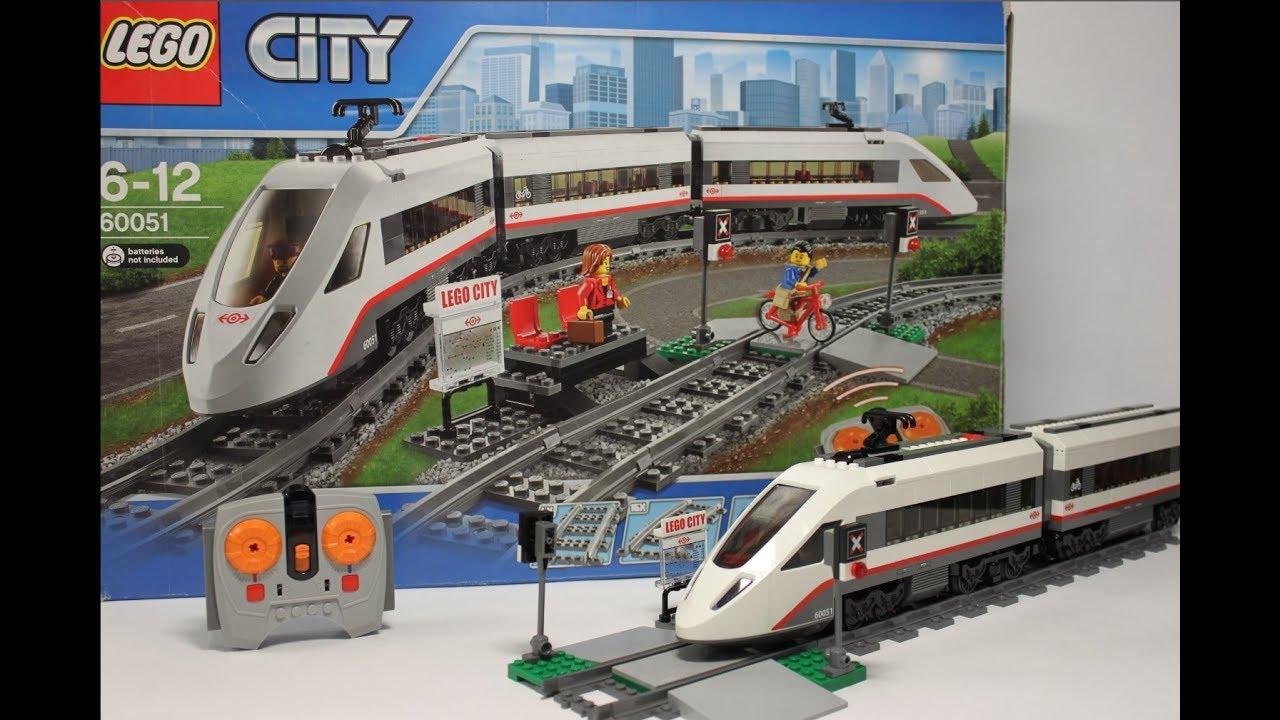 Lego City 60051 High-Speed Passenger Train New See Description Spielzeug LEGO Baukästen & Sets gredevel.fr