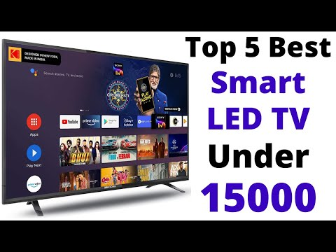 Top 5 Best Smart TV Under 15000 To 17000 In 2021   32 Inch Best Android Smart TV Under 15000   Hindi