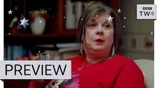 Christine spoils the surprise - Two Doors Down: Christmas Special | Preview - BBC Two