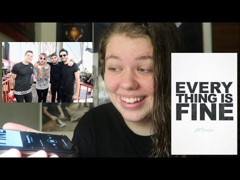 EVERYTHING IS FINE REACTION  ALL TIME LOW