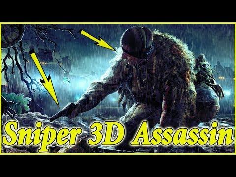 sniper 3d assassin mod apk unlimited gold + gems + energy ✓ 100% works (no root/lailbreak) offline