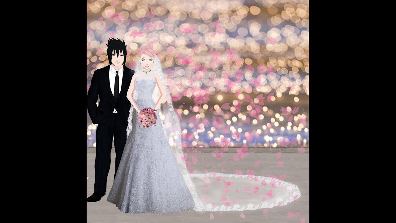 Sasuke Sakura Wedding Photos - New Edition - YouTube