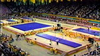 Mens Gymnastics - 1984 OLYMPIC GAMES AA