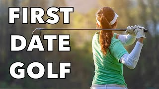Funny Jokes - First Date Golfing At The Golf Course...