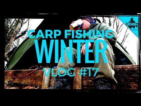 CARP FISHING IN WINTER -  THE PARK LAKE - VLOG #17 😀