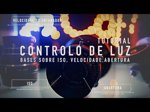 ISO, ABERTURA E VELOCIDADE DO OBTURADOR - Como Configurar!