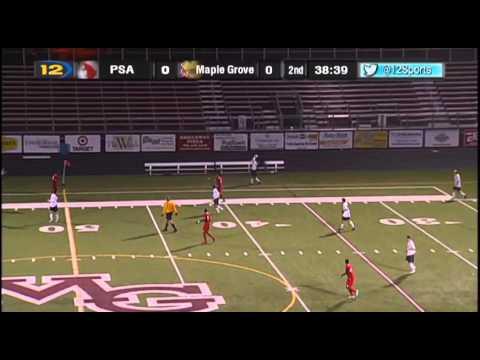 Prairie Seeds Academy vs. Maple Grove Boys Section Soccer
