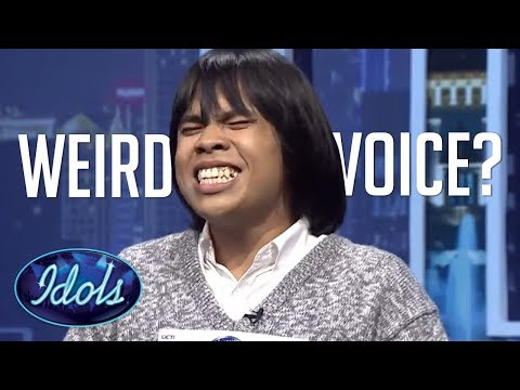 WEIRD VOICE?! Judges say NO WAY On Indonesian Idol 2018 Audition