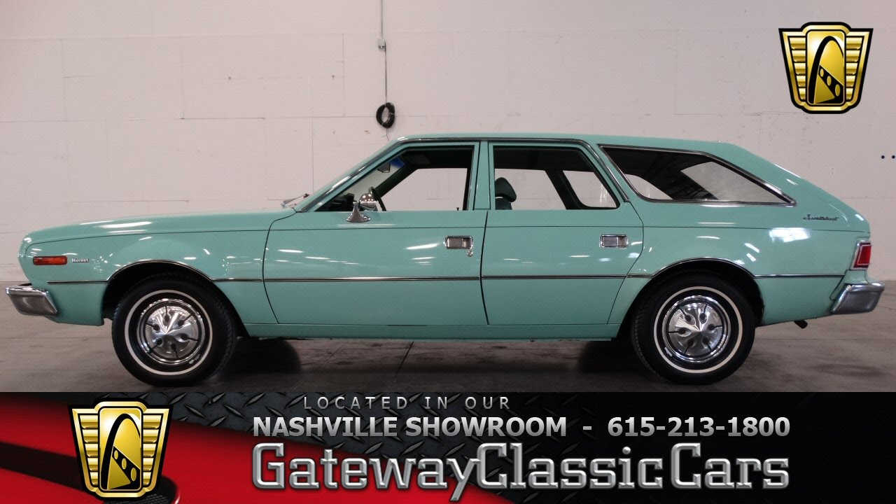 1974 AMC Hornet Sportabout Wagon - Gateway Classic Cars of Nashville ...