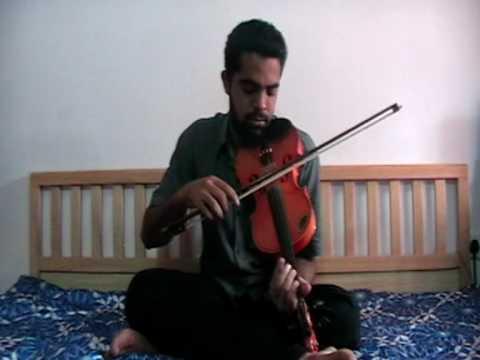 Maula Mere Maula Mere in Violin by Subramoni Rengarajan