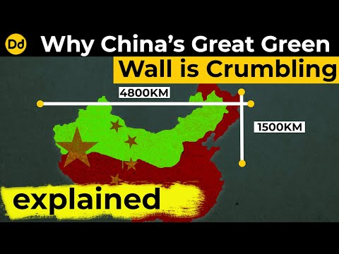 The Great Green Wall Of China | Explainer