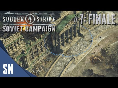 Battle #7: Battle for Berlin! - Sudden Strike 4 - Soviet Campaign Gameplay