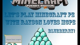 Minecraft Pocket Edition Episode 3(mining random stuff)