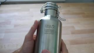 best vacuum insulated water coffee tea bottles zojirushi hydro flask klean canteen review