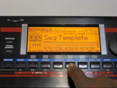 Roland Juno-G: Creating a Split and Saving  free Download :popular-software.com