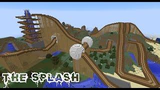 Minecraft Roller Coaster - The Splash (9Min) ★