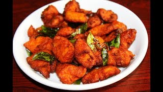 how to make easy and crispy chicken 65 - easy chicken snacks with ching