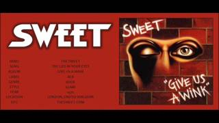 #98 The Sweet - The Lies In Your Eyes (WITH LYRICS)