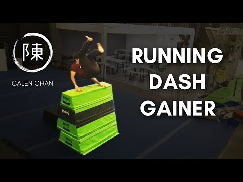 RUNNING DASH GAINER | Requested Trick Challenge Ep.2