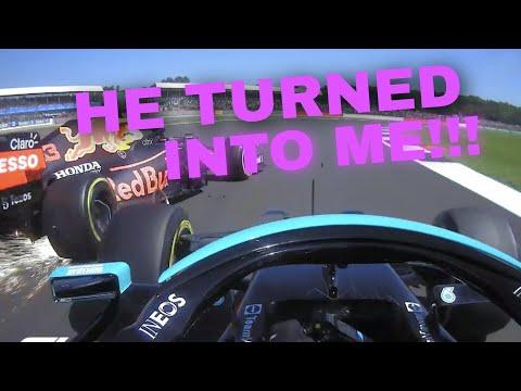 HAMILTON FULL TEAM RADIO AFTER HIS MASSIVE CRASH WITH VERSTAPPEN! | 2021 British GP