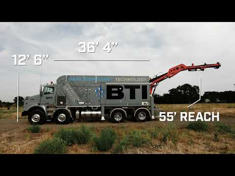 BTI DRY EXCAVATION DIVISION @ MTS DINO SUCTION TRUCK