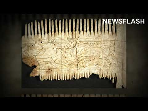 Ornate Ivory Comb And African Bowl Among Objects Found In 6th Century Graves For First Time