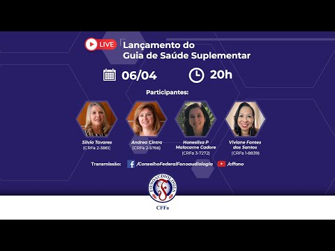 Live | Lançamento do Guia de Saúde Suplementar