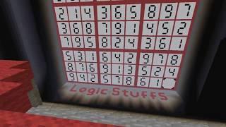 Minecraft: Redstone Sudoku