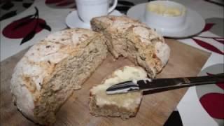 Овсяный хлеб с семечками