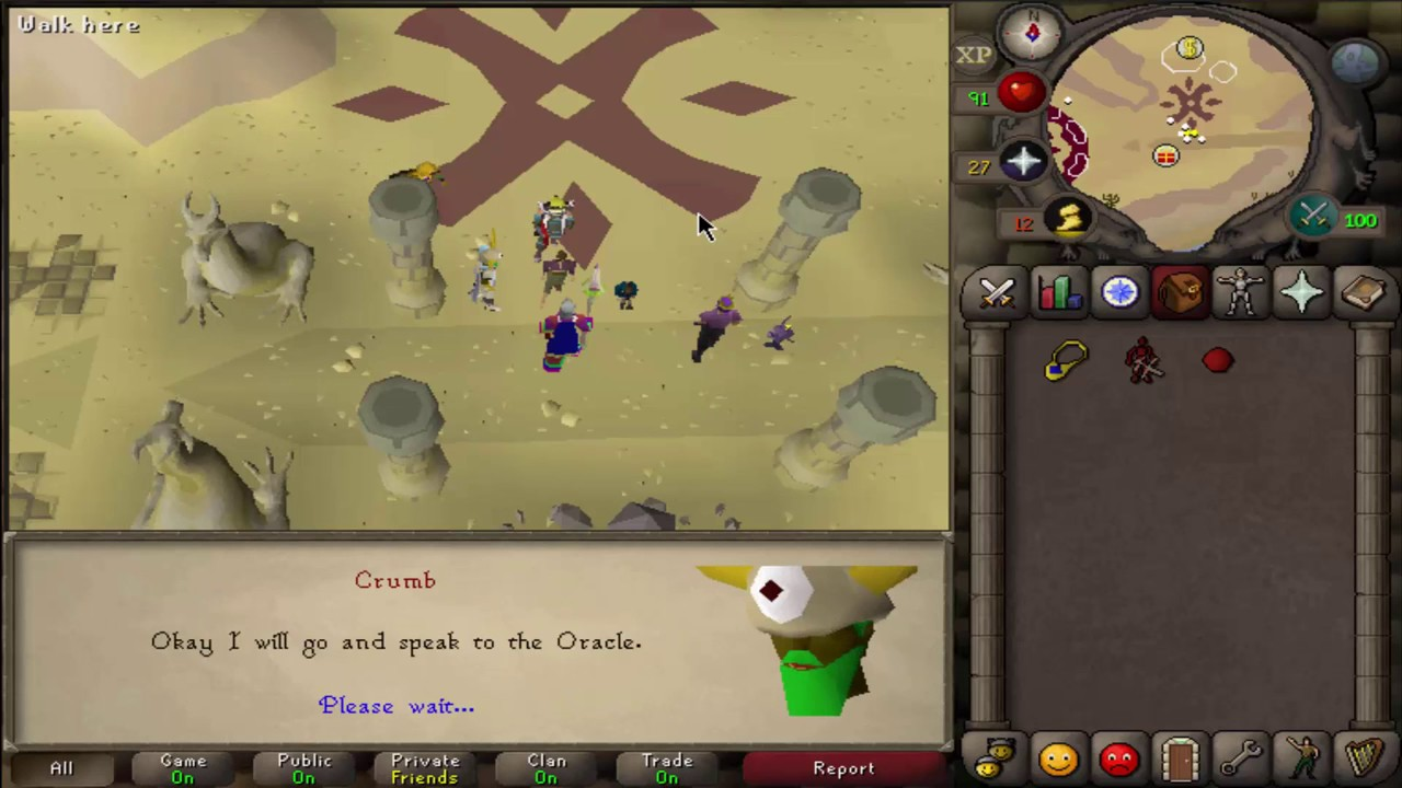 Old School Runescape Carol\'s Christmas event fast completion guide ...