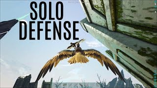 SOLO DEFENSE vs The Worst Tribe In ARK - Official Extinction PVP (E5)