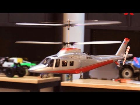 New Art Tech 4 Channel 400 Class Agusta Double rotor Helicopter Review