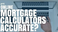 Are Online Mortgage Calculators Accurate? (Ep83)