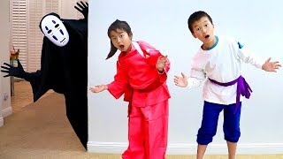Download Jannie Pretend Play Funny Halloween Story for Kids Mp3 and Videos