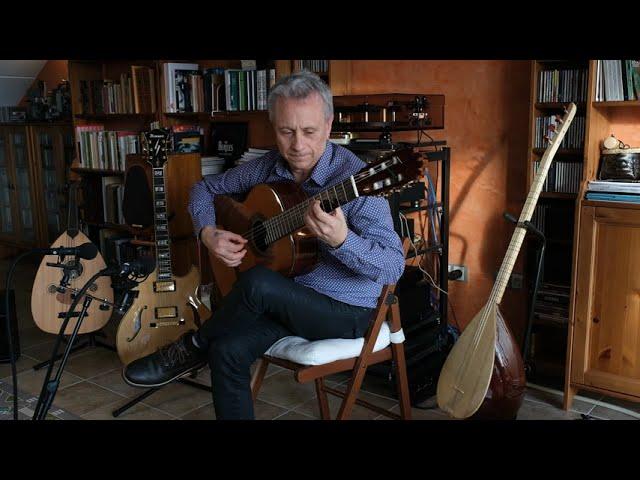 Preludio de Adiós, by Alfonso Montes. Eduardo Pascual plays guitar made by José Antonio LAGUNAR