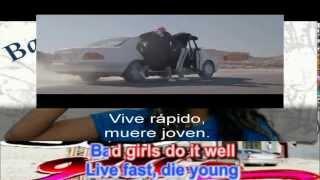 M.I.A- Bad Girls. VIDEO.(Lyrics+ Sub Español)