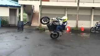 Aksi Wawan Tembong Freestyle With Yamaha Xabre